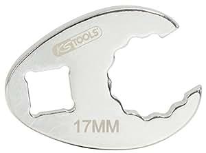 """KS Tools 913.3919 - CHROME + crowfoot llave de 12 puntos, 3/8 """", 19mm"""