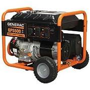 Generac Portable Generator-C.A.R.B, 3250w