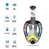 Zeraty Snorkel Mask (Liquid Silica Gel), Foldable