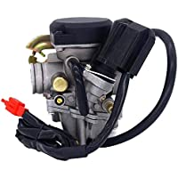 Parts Club 49cc Scooter Carburetor GY6 Four Stroke with...