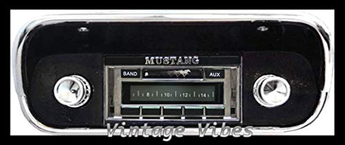 1967-1973 Ford Mustang Custom Autosound USA-230 AM FM Stereo Radio 200 watts