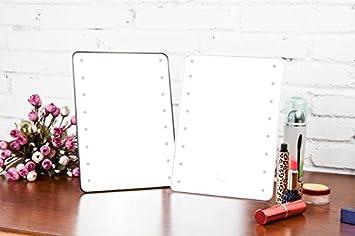 Mufly led miroir de maquillage de table à eclairage led à