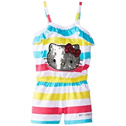 Hello Kitty Girls' Stripe Romper