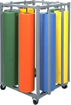 Bulman R995 Eight Roll Square Vertical Paper Rack (Paper Roll Rack Vertical)