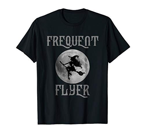 Frequent Flyer Funny Halloween Witch Costume
