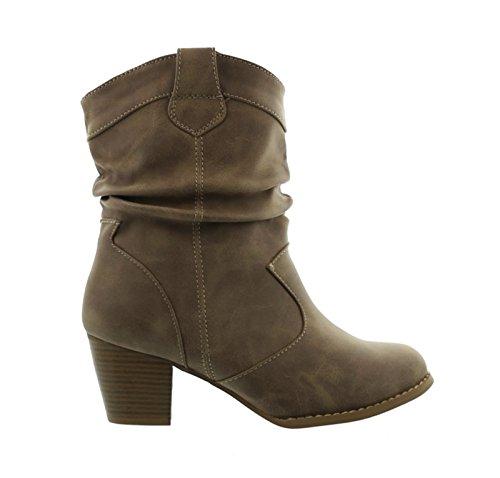 Shoes Bottines de cowboy Of Santiags King femme courtes P8qBAwq5x