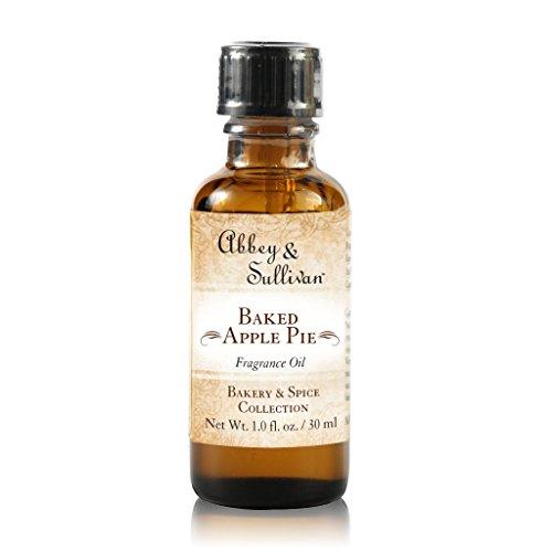 Abbey & Sullivan Fragrance Oil, Baked Apple Pie, 1 oz.