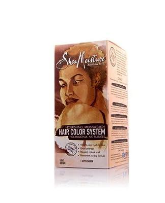 Shea Moisture Hair Color System - LIGHT BROWN