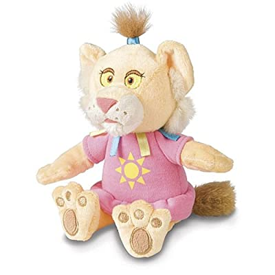 "Between the Lions Leona 7"" Bean Bag Plush Toy: Toys & Games"