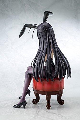 Bellfine Accel World Infinite Burst: Kuroyukihime (Bunny Version) 1: 7 Scale PVC Figure