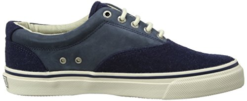 Sperry Top-Sider Mens Striper CVO Wool Shoes Navy huge surprise HQNdxzE