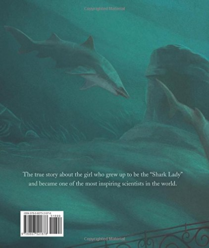 Swimming with Sharks: The Daring Discoveries of Eugenie Clark by Albert Whitman Company (Image #1)