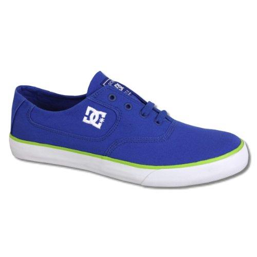 DC Shoes Herren Schuh Canvas Sneaker Flash royal blue - fällt 1 Nr. kleiner aus Royal Blue