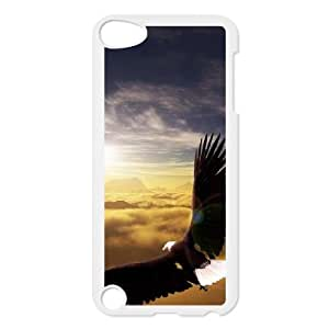Bald Eagle Customized Cover Case for Ipod Touch 5,custom phone case ygtg578445