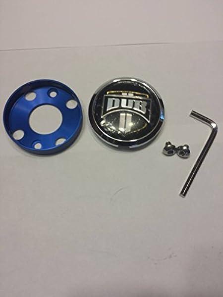 DUB Wheels /'Floater/' Chrome Custom Wheel Center Cap # 1002-35-C NEW 1 CAP