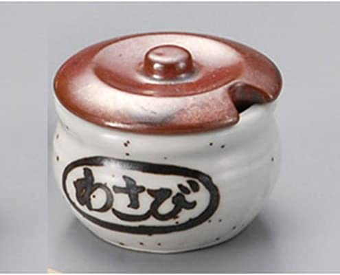 Servicio de mesa [Wasabi (1,97 x 1.58 pulgadas cuchara de madera 3.04 x 0,4 pulgadas] tga34738 -- 39 – 466 condimento entrada juego de entrada de tortuga tipo Wasabi + cuchara de