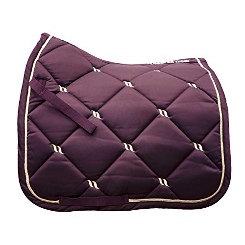 - Back on Track Night Collection Saddle Pad (Ruby, Dressage)