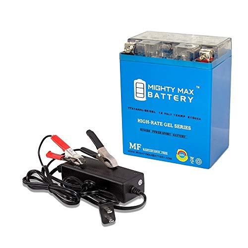 Mighty Max Battery YTX14AHL Replaces Yamaha 340 ET340E for sale  Delivered anywhere in USA