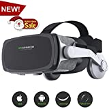 [ 2018 New Version ] Virtual Reality Headset, VR SHINECON...