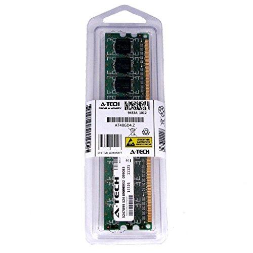 4GB STICK For EliteGroup (ECS) Motherboard IC780M-A K8M890M-M V1.0 V1.0A V2.0 KA3 Deluxe MVP KN3 SLI2 Extreme. DIMM DDR2 NON-ECC PC2-5300 667MHz RAM Memory. Genuine A-Tech Brand.