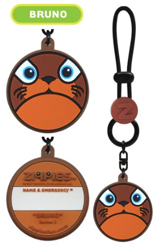 Zippies Bottle Tags Series 1 - Bruno]()