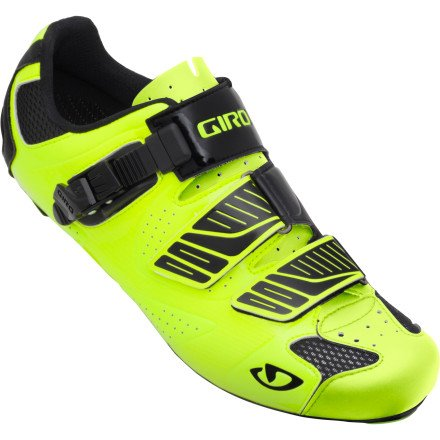 Giro 2013 Men's Factor Road Bike Shoes (Highlight Yellow/Black - 39)