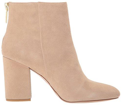 Kenneth Caylee Dress Cole Bootie New Ankle Heel Suede Almond Block Women's York dwIIXqr