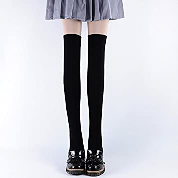 XIU*RONG Calcetines Calcetines Altos Stocking Antideslizante De Silicona Caliente Muslo Calcetines Altos (2