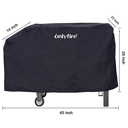 Onlyfire 28 Inch Heavy Duty Cover Fits for Blackstone Outdoor Cooking Gas Grill Griddle Station