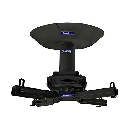 QualGear Pro-AV QG-KIT-CA-3IN-B Single Joist Ceiling Adapter, 3