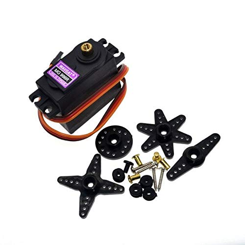 - SENRISE Digital Servo, High Speed Metal Gear MG996R Big Torque Set For Robot RC Helicopter Airplane Boat Remote Control (1Pcs)