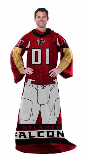 The Northwest Company Officially Licensed NCAA Folding Body Pillow Atlanta Falcons Body Pillow