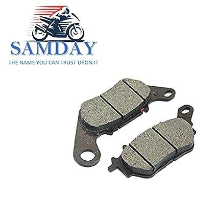 SAMDAY Front Brake Disc Pad Compatible for Yamaha R15 V1, R15 V2, R15 V3  Old Model
