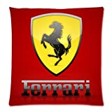 Ferrari S Prancing Horse Pillowcases Custom Pillow Case Cushion Cover 18 X 18 Inch Two Sides