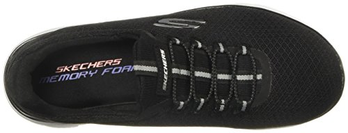 Skechers Grau Rosa GYLP Break Dynamight Through Black Sneaker Schwarz Damen Slipper White 12991 r8gqwr