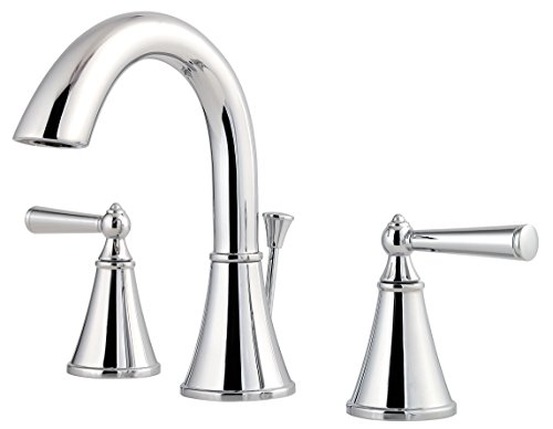 7 Faucet Finishes For Fabulous Bathrooms: Pfister Bathroom Chrome Faucet, Chrome Bathroom Pfister