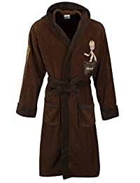 Official Men's Guardians of the Galaxy Groot Character Dressing Gown Bathrobe