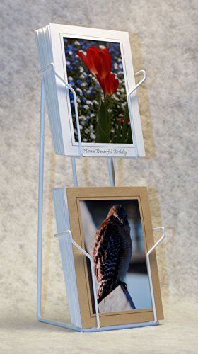 "Photographer's Edge, Tabletop Rack, Vertical Pockets For 5"" x 7"" Cards"