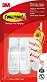 Command by 3M Medium Wall Hooks, Decorate Damage Free, Easy On, Easy Off, Value Pack (GP001-9NA)