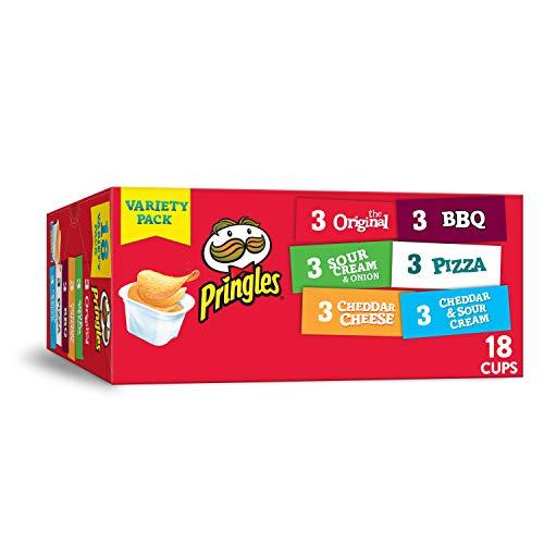 Pringles Flavored Variety Pack Potato Crisps