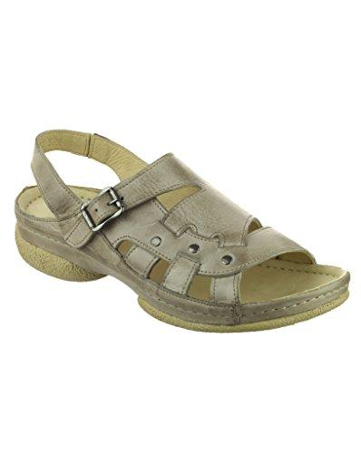 Bretelles Chaussures la Pour Sandales cheville Compensées Femmes Été Cotswold Gris À Aux Chipping SwYTqxv8