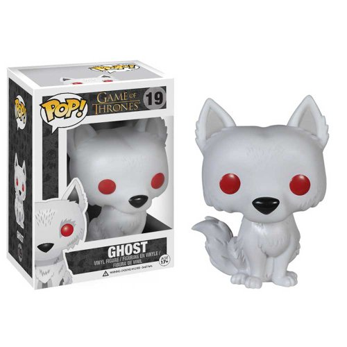 Hot Dog King Game - Funko POP! Game of Thrones Ghost Vinyl Figure