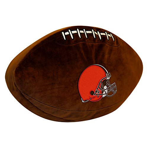- Northwest Officially Licensed NFL Cleveland Browns 3D Sports Pillow