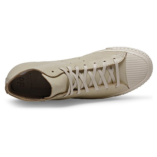 Pf Flyers Mens Rambler Hi Sneaker Fashion In Pelle Naturale