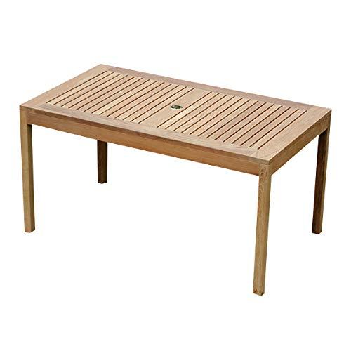 (Atlanta Teak Furniture - Teak Rectangular Dining Table - Grade-A)