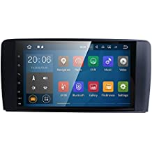 9 Inch 1024x600 Android 7.1 Car Radio GPS Navigation Stereo for Mercedes Benz ML GL W164 Auto GPS Navigation Wifi Bluetooth Touch Screen Mirror Link + optional 4G OBD2 DVR TPMS