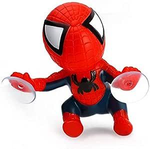 16CM for Spider Man Toy Climbing Spiderman Window Sucker for Spider-Man Doll Car Home Interior Decoration