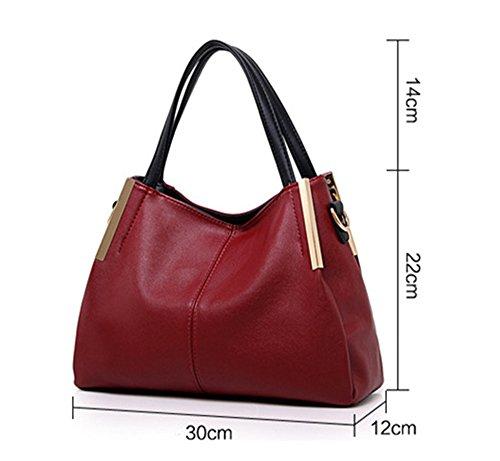 Bolsos de señora Xinmaoyuan señoras bolso de hombro cruz oblicua Big Bag Rojo