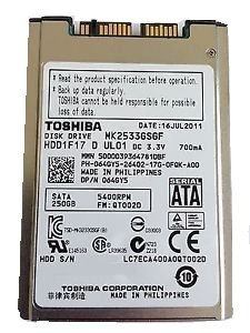"Toshiba SMK2533GSGF 1.8"" SATA Small Form Factor Hard Disk Drive SATA at amazon"