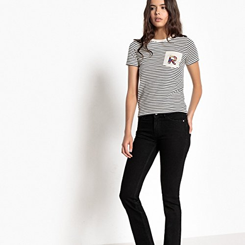 Jeans Redoute Straight Collections Donna La Nero Pushup qvw8TwB